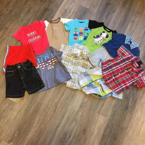 118e0ec442503 Brand Name Baby Boy Clothes Lot, 3-12 Months